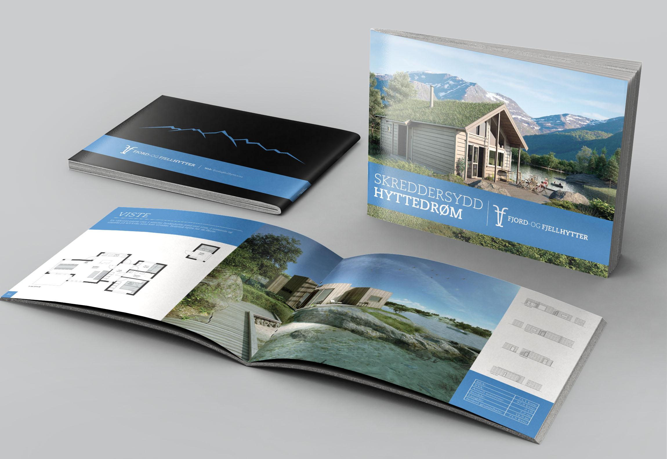 RENDER * Portfolio * Fjord- og fjellhytter - Katalog